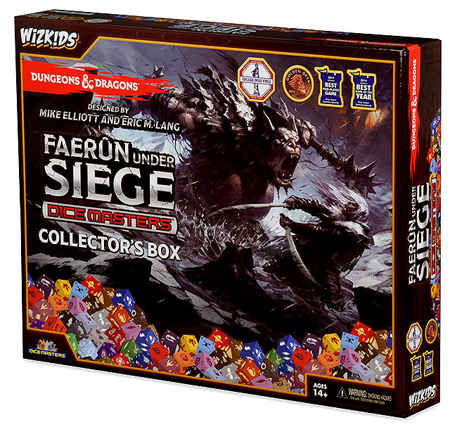 Dungeons & Dragons Dice Masters: Faerun Under Siege Collectors Box Box Front