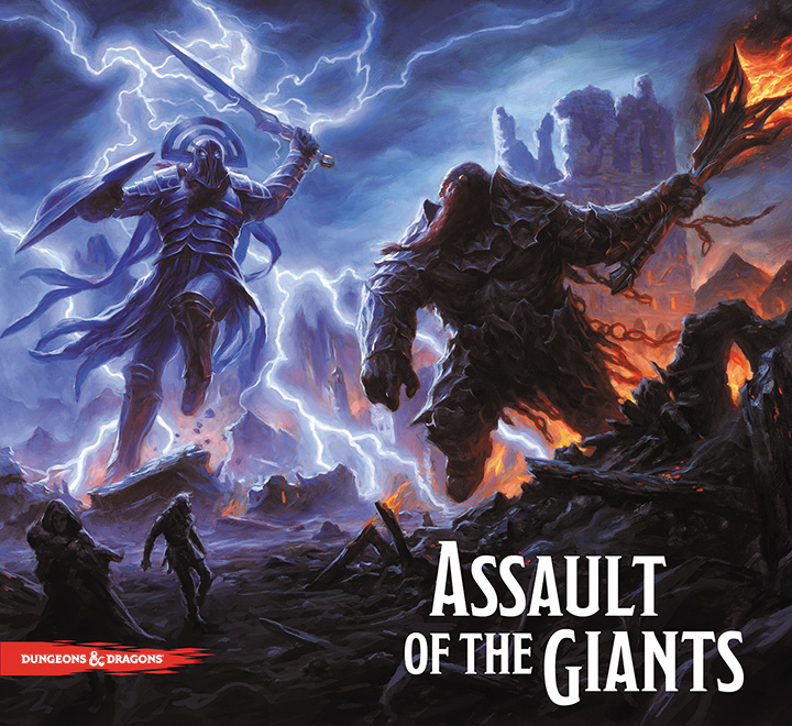 Dungeons & Dragons Assault Of The Giants Board Game Box Front