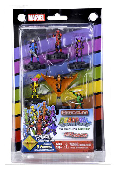 Marvel Heroclix: Mercs 4 Money Fast Forces Box Front