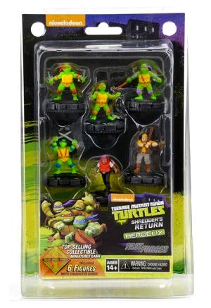 Teenage Mutant Ninja Turtles Heroclix: Shredder`s Return Fast Forces Box Front