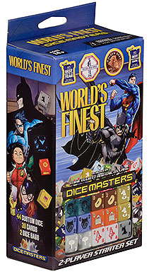 Dc Dice Masters: World`s Finest Starter Set Box Front