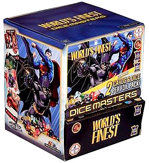 Dc Dice Masters: World`s Finest Gravity Feed Display (90) Box Front