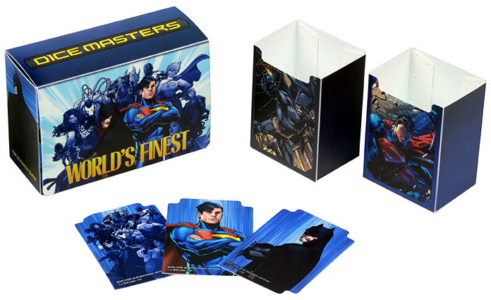 Dc Dice Masters: World`s Finest Team Box Box Front