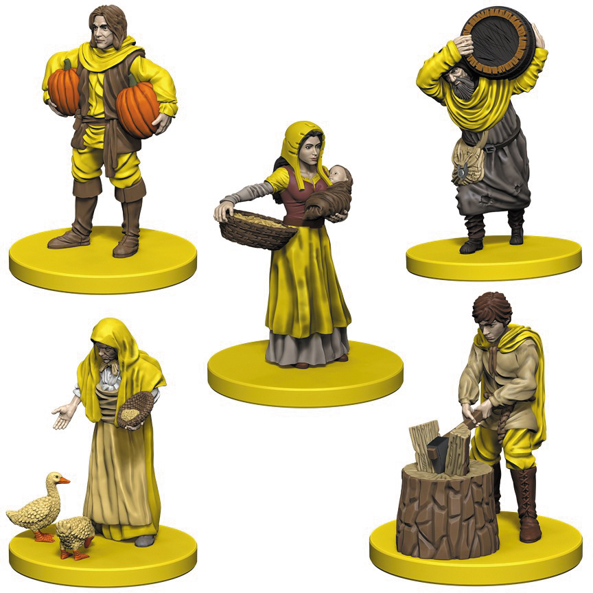Agricola: Yellow Expansion Box Front