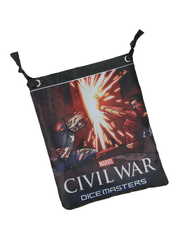 Marvel Dice Masters: Civil War Dice Bag (captain America/iron Man) Box Front