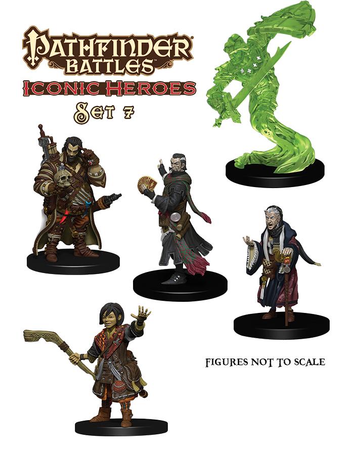 Pathfinder Battles: Iconic Heroes Box Set 7 Box Front