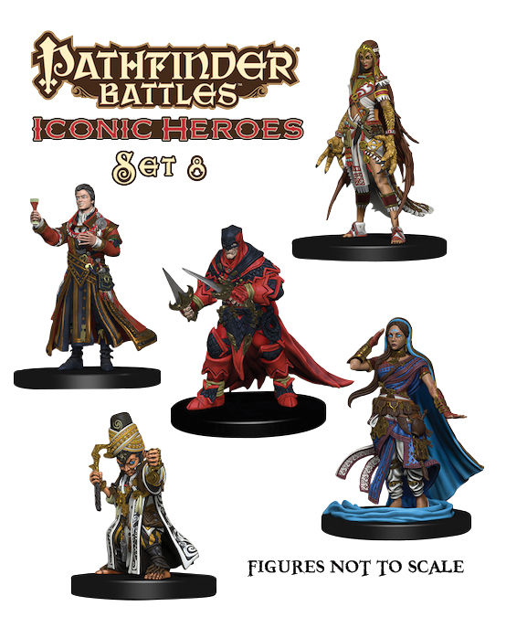 Pathfinder Battles: Iconic Heroes Box Set 8 Box Front