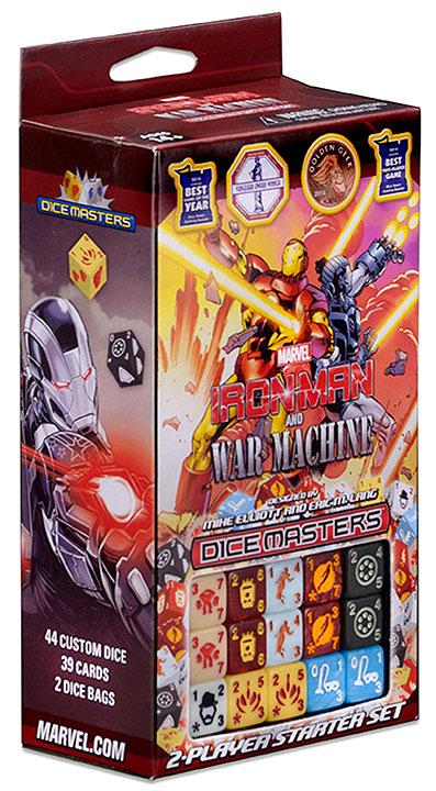 Marvel Dice Masters: Iron Man And War Machine Starter Set Box Front