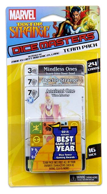 Marvel Dice Masters: Doctor Strange Team Pack Box Front