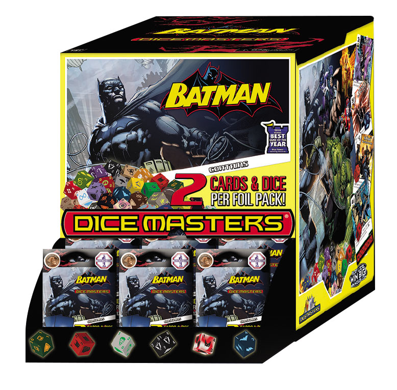 Dc Dice Masters: Batman Gravity Feed Display (90) Box Front