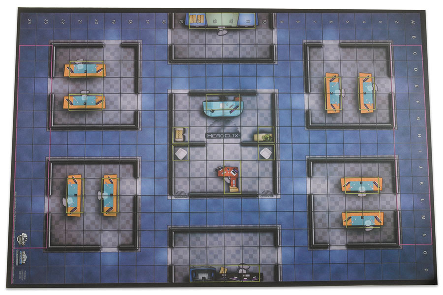 Heroclix: 2016 Collector`s Premium Map - Wizkids Office Box Front