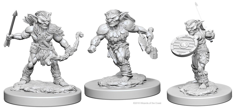 Dungeons & Dragons Nolzur`s Marvelous Unpainted Miniatures: Goblins Box Front