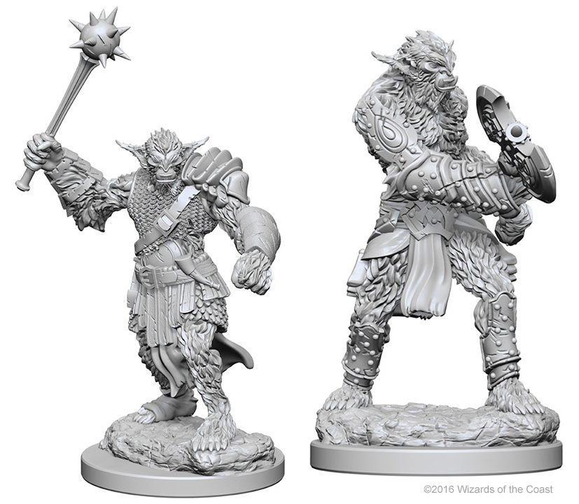 Dungeons & Dragons Nolzur`s Marvelous Unpainted Miniatures: Bugbears Box Front