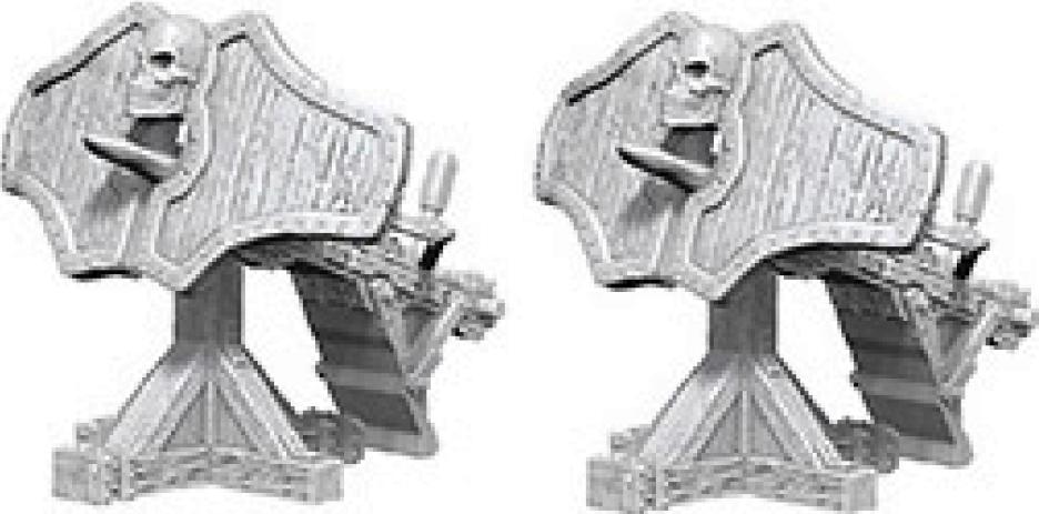Dungeons & Dragons Nolzur`s Marvelous Unpainted Miniatures: Ballista Box Front