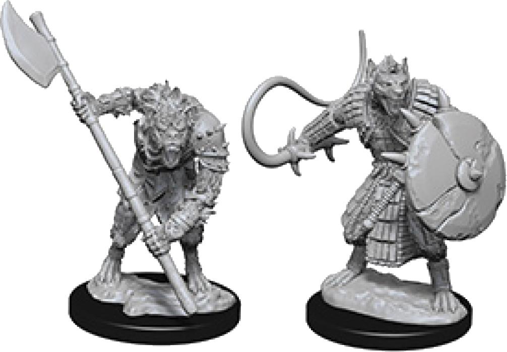 Pathfinder Deep Cuts Unpainted Miniatures: Gnolls Box Front