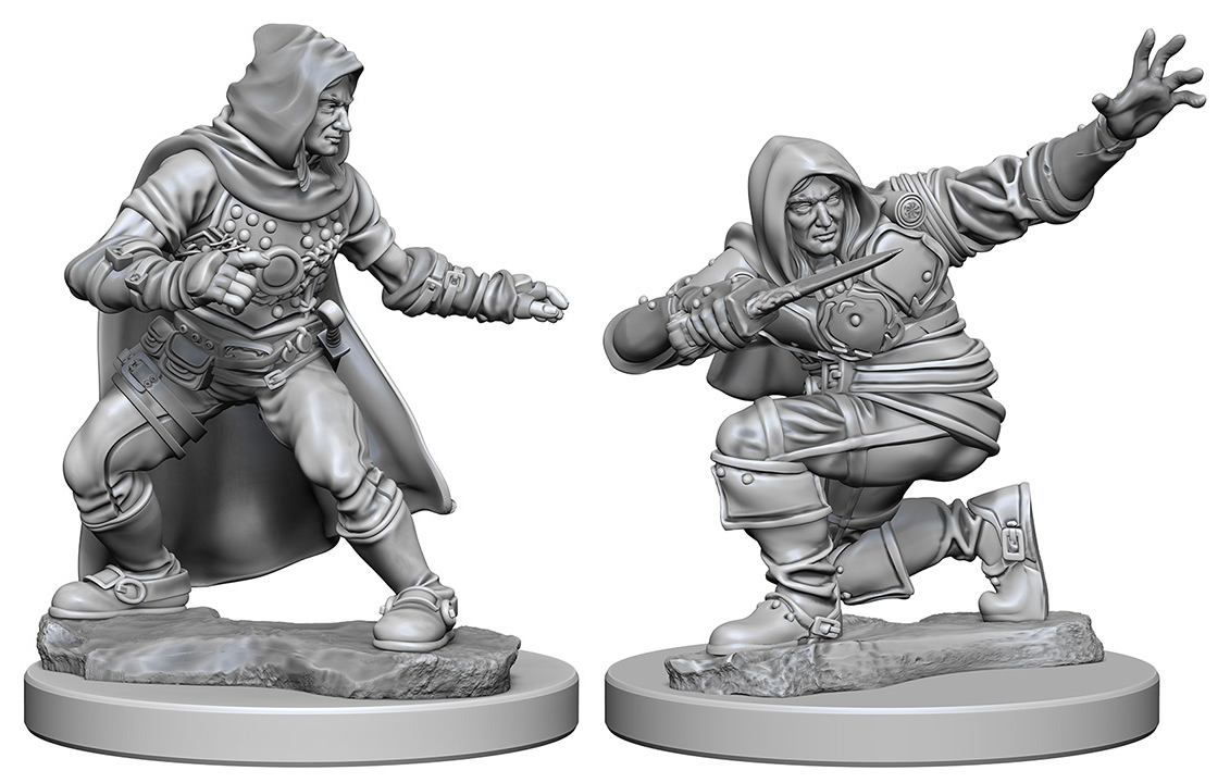 Pathfinder Deep Cuts Unpainted Miniatures: Human Male Rogue Box Front