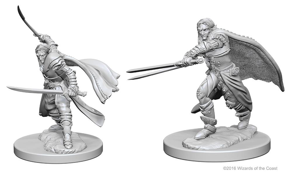 Dungeons & Dragons Nolzur`s Marvelous Unpainted Miniatures: Elf Male Ranger Box Front