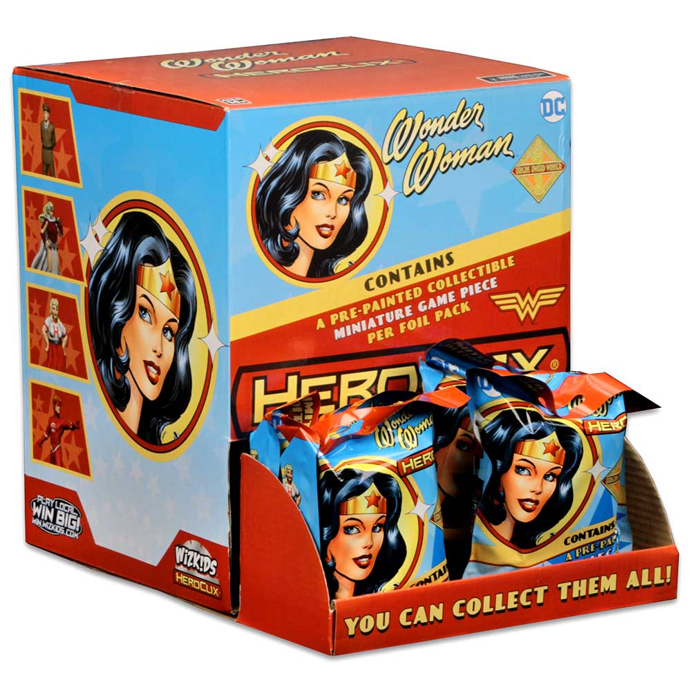 Dc Heroclix: Wonder Woman Gravity Feed A (core/hobby) (24) Box Front