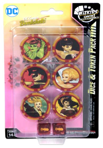 Dc Heroclix: Harley Quinn And The Gotham Girls Dice & Token Pack Box Front