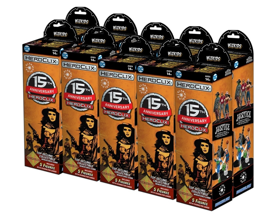 Dc Heroclix: 15th Anniversary Elseworlds Booster Brick (10) Box Front