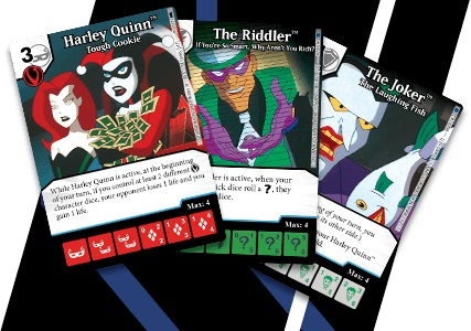 Dc Dice Masters: Batman The Animated Series Villains Monthly Organized Play Kit Box Front