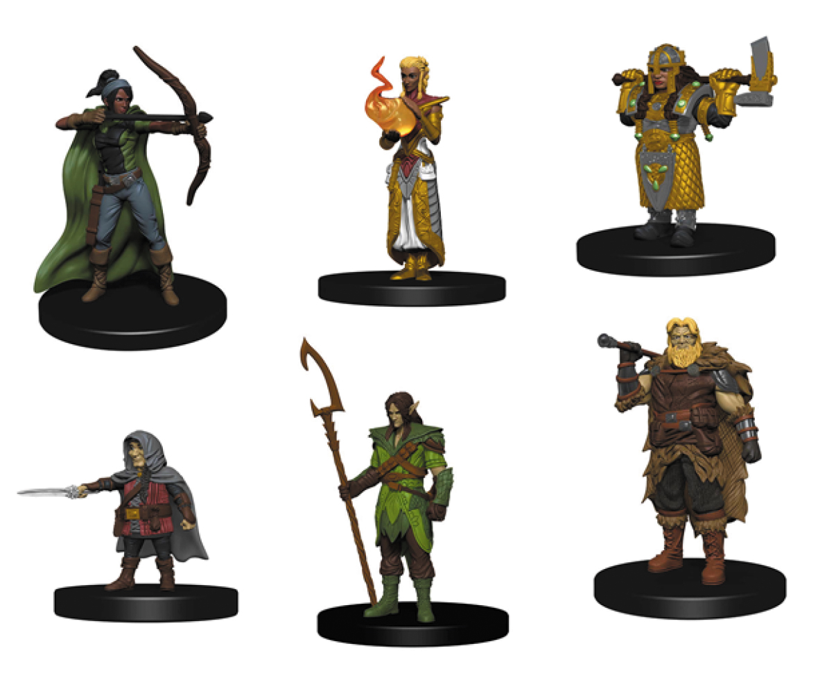 Dungeons & Dragons Fantasy Miniatures: Icons Of The Realms Starter Set Box Front