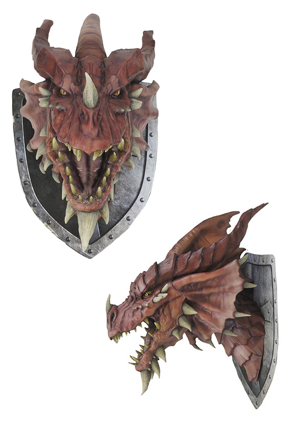 Dungeons & Dragons Red Dragon Trophy Plaque Box Front