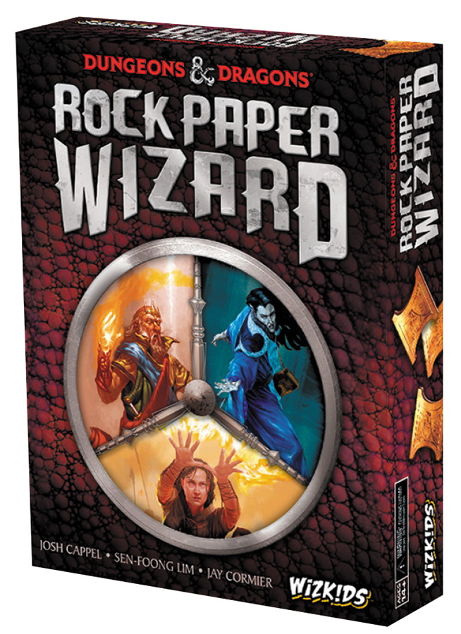 Dungeons & Dragons: Rock Paper Wizard Box Front