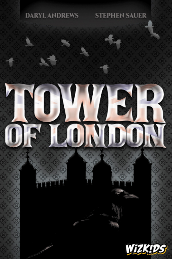 Tower Of London Board Game Box Front