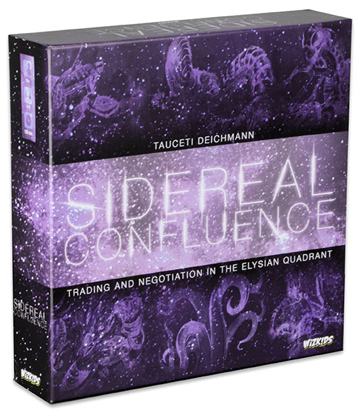 Sidereal Confluence Trading And Negotiation In The Elysian Quadrant Box Front