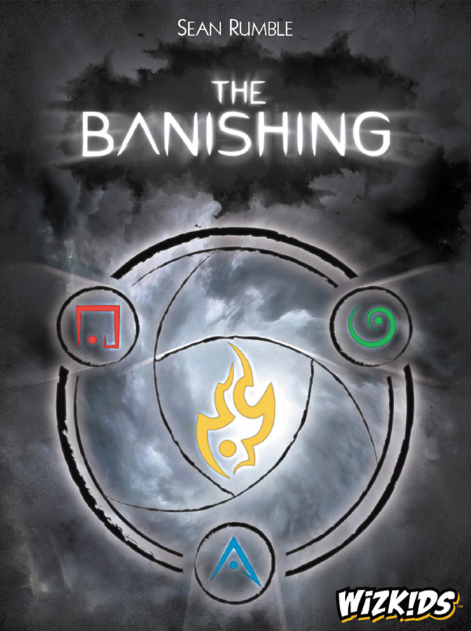 The Banishing Card Game Box Front