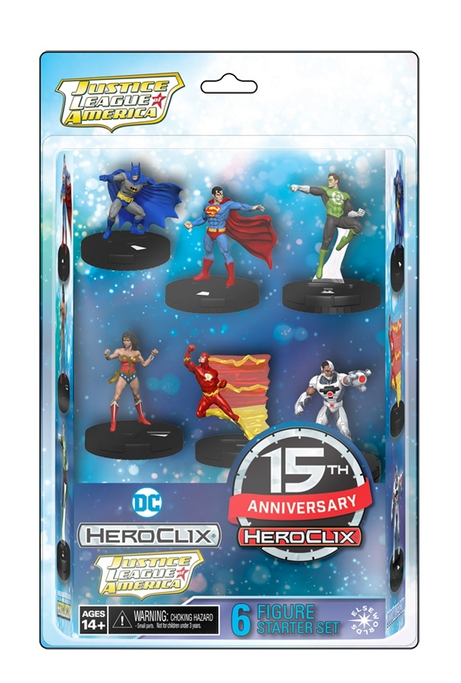 Dc Heroclix: 15th Anniversary Elseworlds Starter Set Box Front