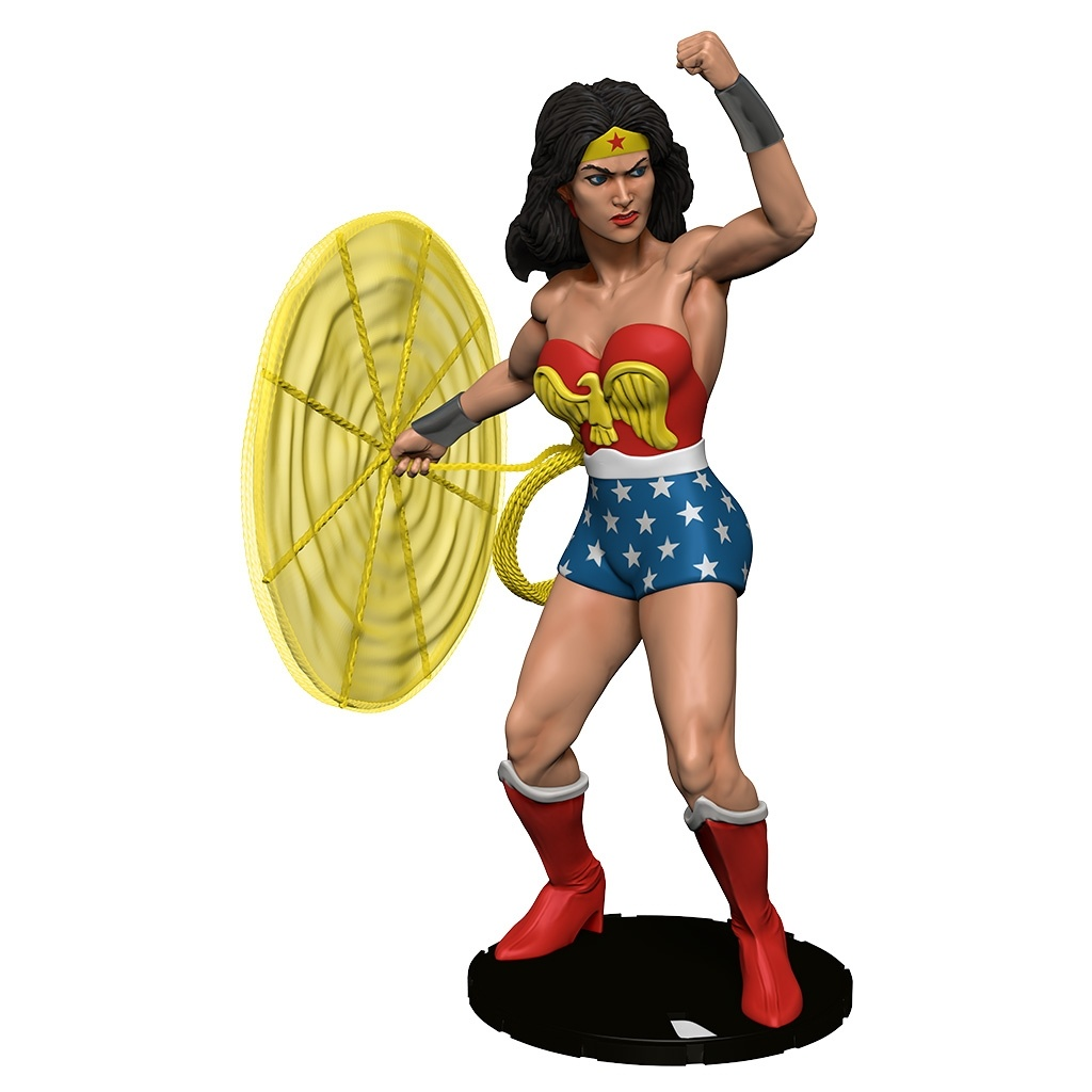 Dc Heroclix: 15th Anniversary Elseworlds Colossal Skyscraper Wonder Woman Case Incentive (pr) Box Front