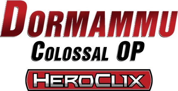 Marvel Heroclix: Dormammu Colossal Organized Play Kit Box Front