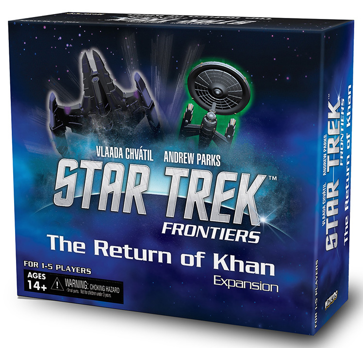 Star Trek: Frontiers Return Of Khan Expansion Set Box Front