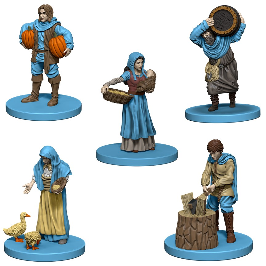 Agricola: Blue Expansion Box Front