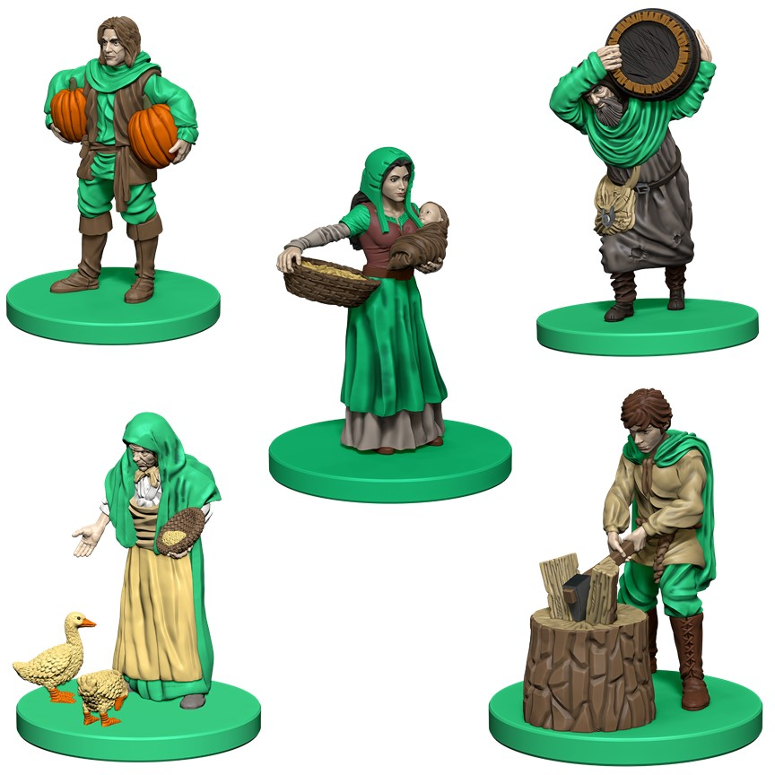 Agricola: Green Expansion Box Front