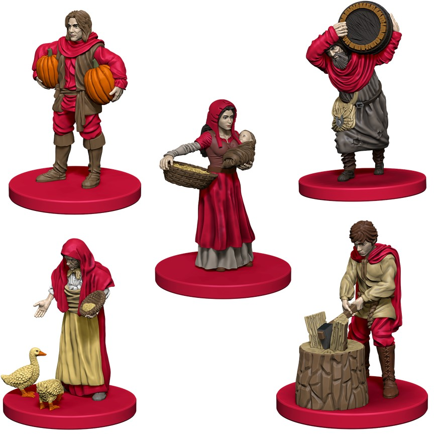 Agricola: Red Expansion Box Front