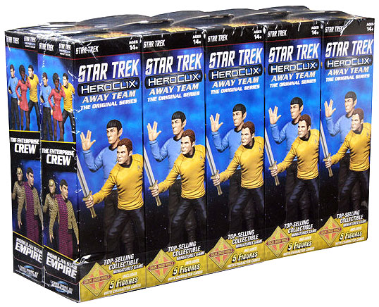 Star Trek Heroclix: Away Team The Original Series Booster Brick Box Front