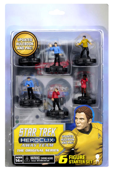 Star Trek Heroclix: Away Team The Original Series Starter Set Box Front