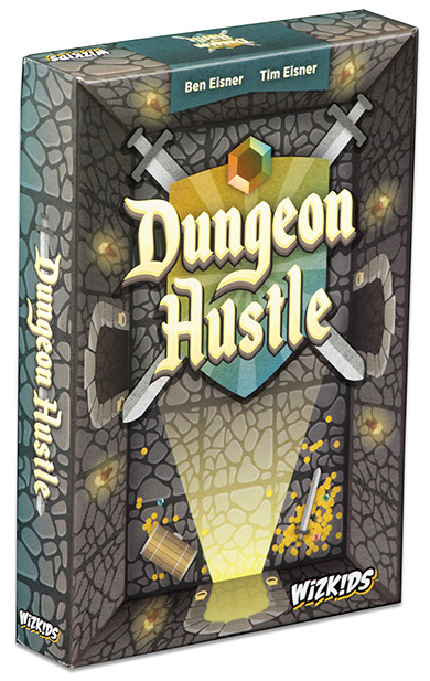 Dungeon Hustle Box Front