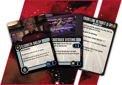 Star Trek Attack Wing: Resource Rumble Monthly Organized Play Kit Box Front