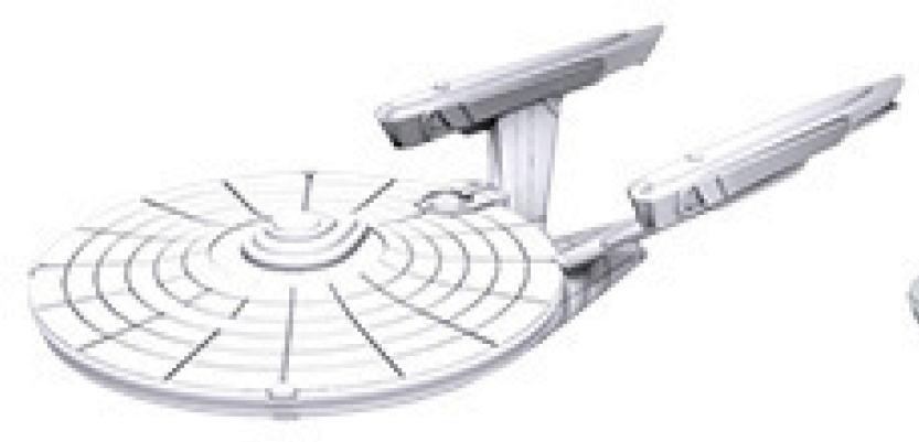 Star Trek Deep Cuts Unpainted Ships: Constitution Class (refit) Box Front