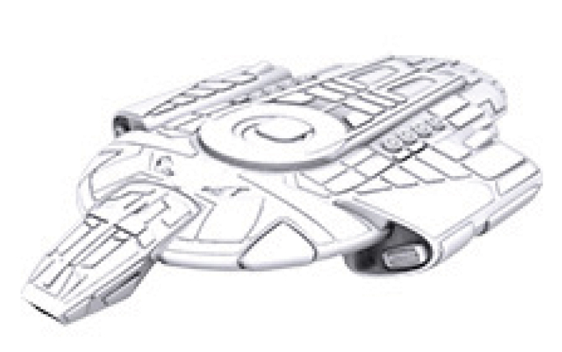 Star Trek Deep Cuts Unpainted Ships: Defiant Class Box Front