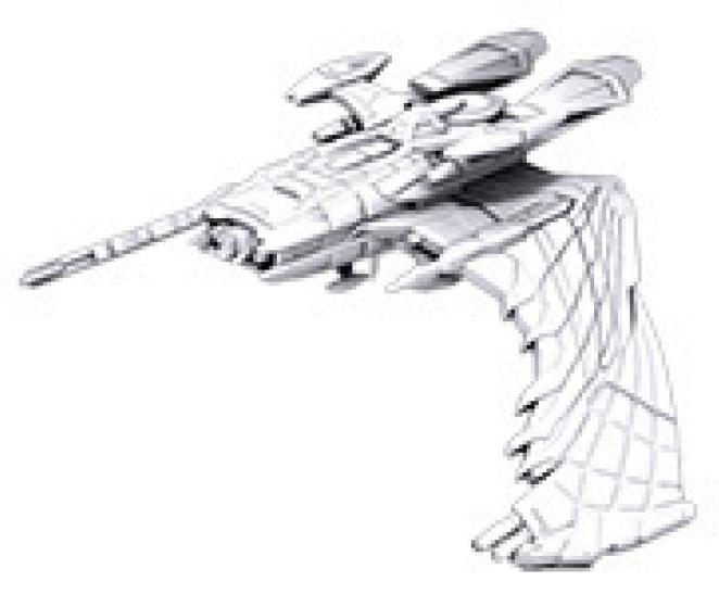 Star Trek Deep Cuts Unpainted Ships: Reman Warbird Box Front