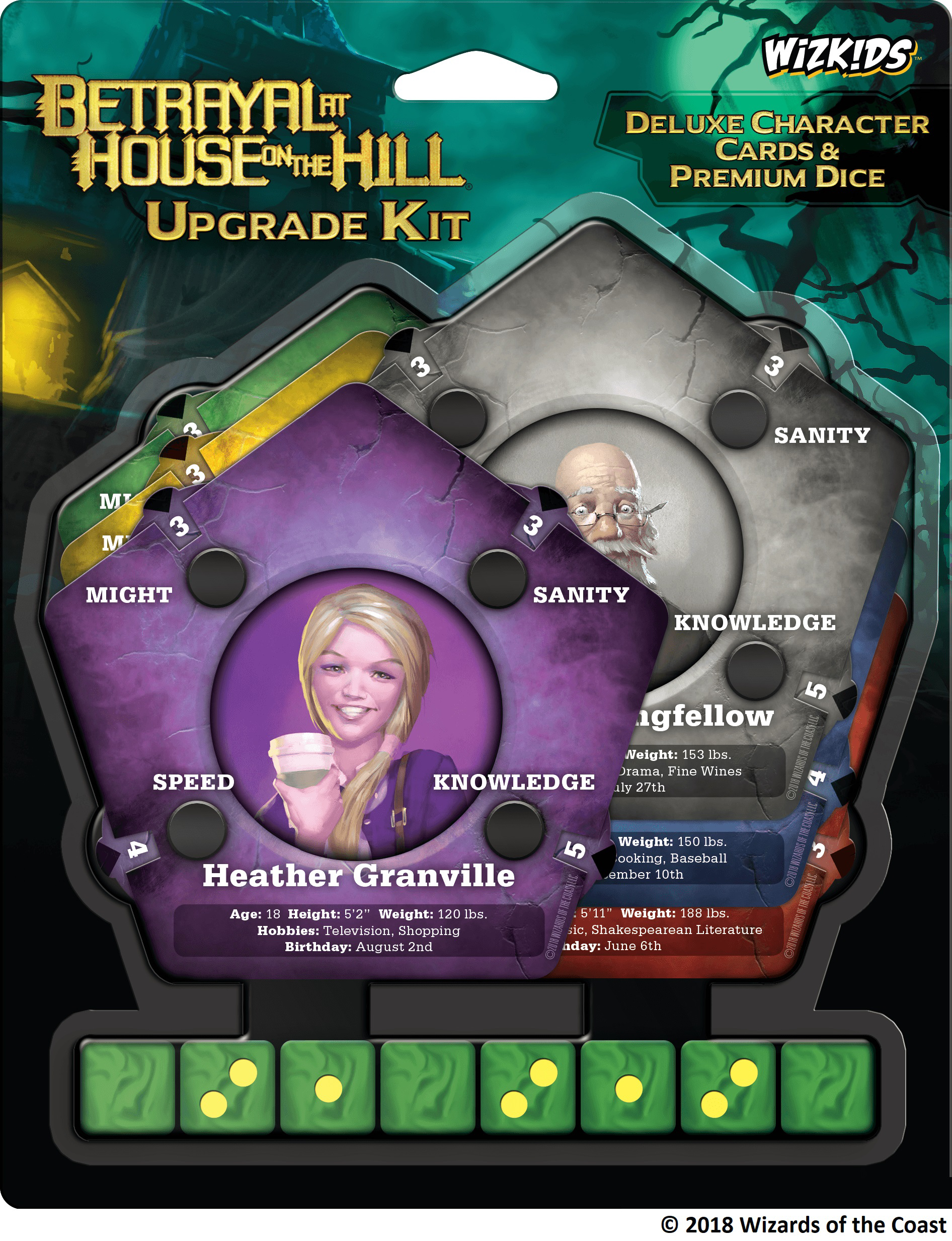 Betrayal At House On The Hill: Upgrade Kit Box Front
