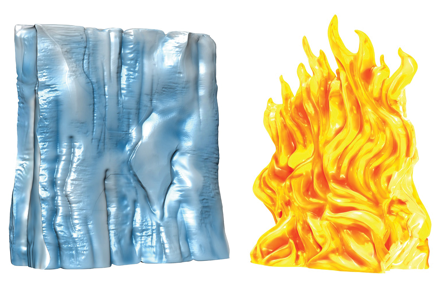 Dungeons & Dragons Spell Effects: Wall Of Fire & Wall Of Ice Box Front