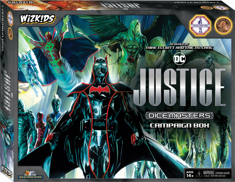 Dc Dice Masters: Justice Campaign Box Box Front
