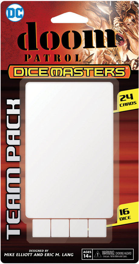 Dc Dice Masters: Doom Patrol Team Pack Box Front