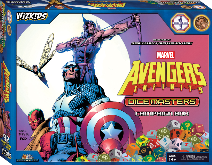 Marvel Dice Masters: Avengers Infinity Campaign Box Box Front
